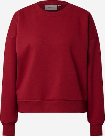 Gestuz Sweatshirt 'Rubi' i rød