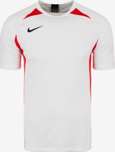 NIKE Fußballtrikot 'Legend' in rot / schwarz / weiß, Produktansicht