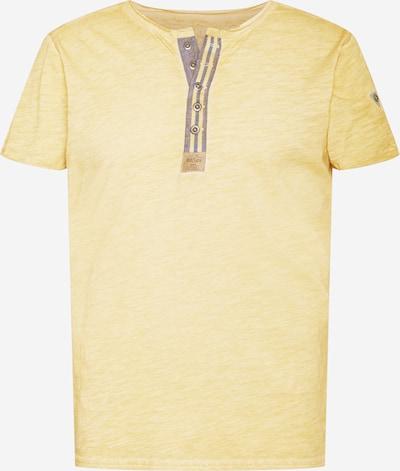 Key Largo Shirt 'Arena' in de kleur Geel gemêleerd / Grijs, Productweergave