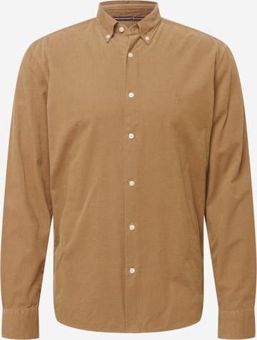 Marc O'Polo Hemd in Braun