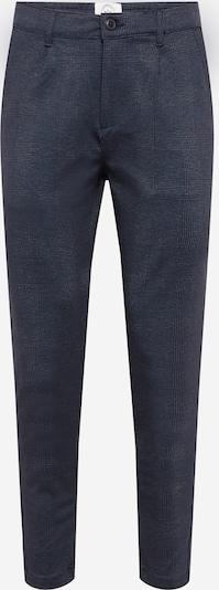 Pantaloni con pieghe Kronstadt di colore marino / navy, Visualizzazione prodotti