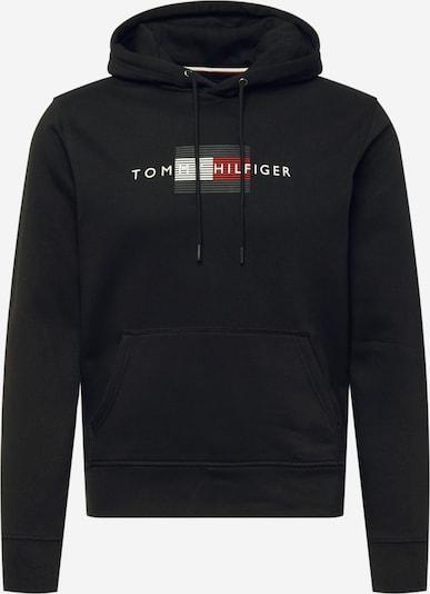 TOMMY HILFIGER Sweatshirt in marine / rot / schwarz / weiß, Produktansicht
