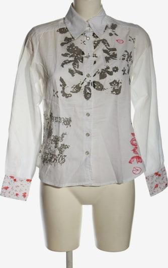 JOE BROWNS Hemd-Bluse in XS in hellgrau / rot / weiß, Produktansicht
