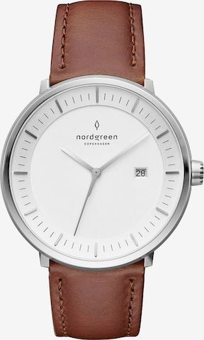 Nordgreen Uhr in Braun