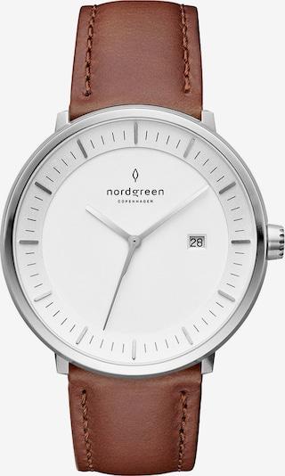 Nordgreen Uhr in braun / silber, Produktansicht