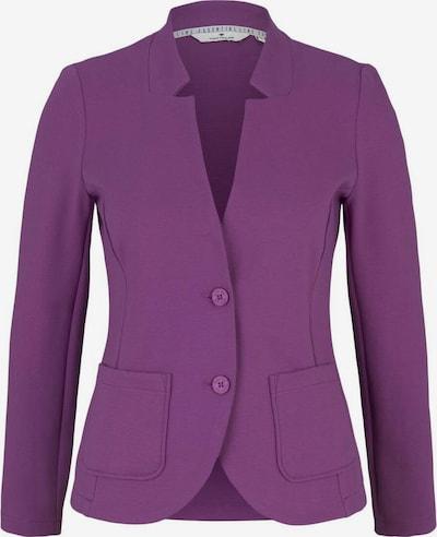 TOM TAILOR Blazer en violet foncé, Vue avec produit