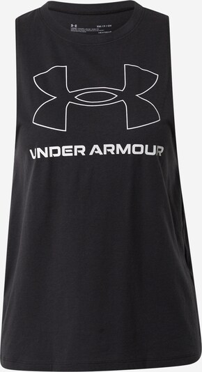 UNDER ARMOUR Top deportivo en negro / blanco, Vista del producto