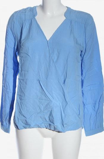 Sa.Hara Langarm-Bluse in M in blau, Produktansicht