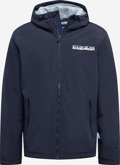 NAPAPIJRI Jacke 'ICE' in marine / weiß, Produktansicht