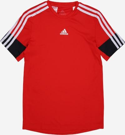 ADIDAS PERFORMANCE Sportshirt in dunkelblau / rot / weiß, Produktansicht