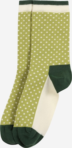 DillySocks Socken 'Yard Dots' in Grün