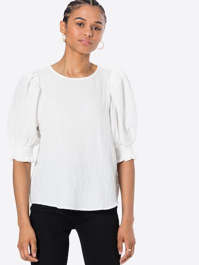ICHI Bluse in weiß, Modelansicht