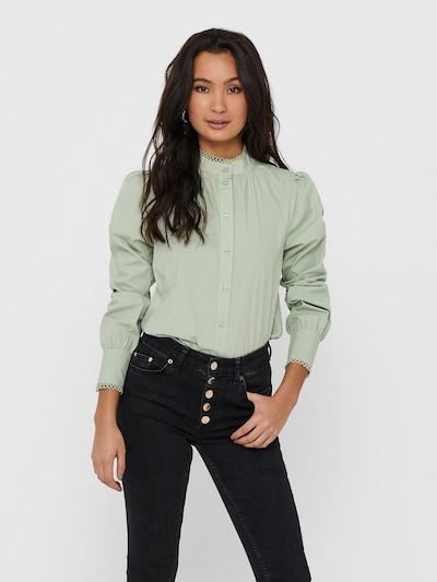 ONLY Bluse 'Vina' in mint, Modelansicht