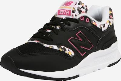 new balance Sneaker in pink / schwarz / weiß, Produktansicht