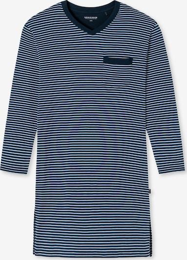 SCHIESSER Pyjama long 'Fashion Nightwear' en bleu, Vue avec produit