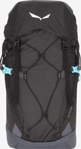 SALEWA Sports Backpack 'Alp Trainer' in Black