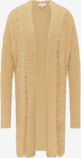 usha FESTIVAL Gebreide mantel in de kleur Sand, Productweergave