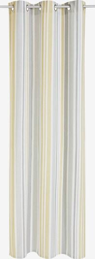 MY HOME Gardine in beige / grau / weiß, Produktansicht