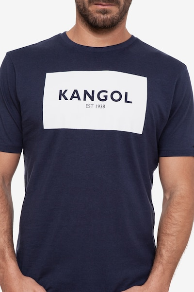 Kangol T-Shirt 'WISTON' in navy, Produktansicht