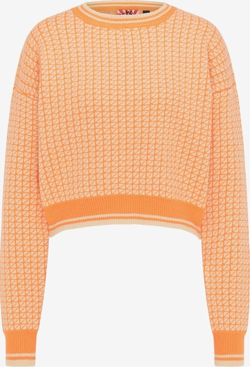 myMo ROCKS Sweater in Cream / Mandarine, Item view