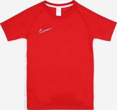 NIKE Sport-Shirt 'Academy' in rot / weiß, Produktansicht