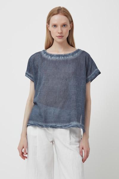 Finn Flare Shirt in dunkelblau: Frontalansicht