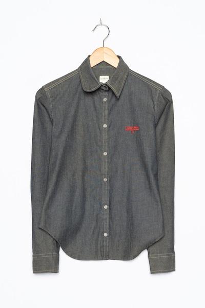 Calvin Klein Jeanshemd in M in grey denim, Produktansicht