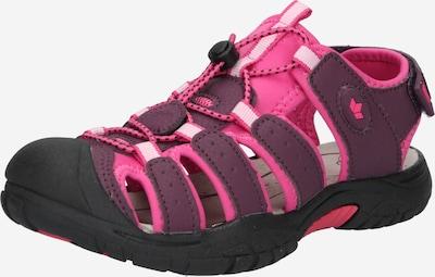 LICO Sandales 'Nimbo' rozā / bordo, Preces skats