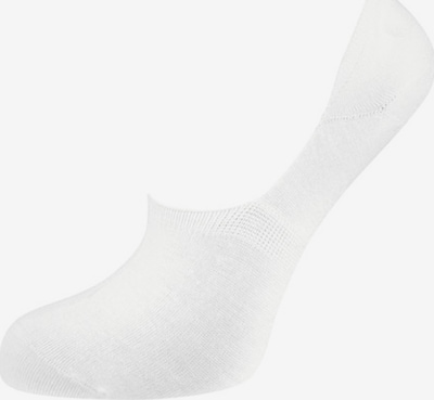 Nur Die Chaussons ' Bambus ' en blanc, Vue avec produit