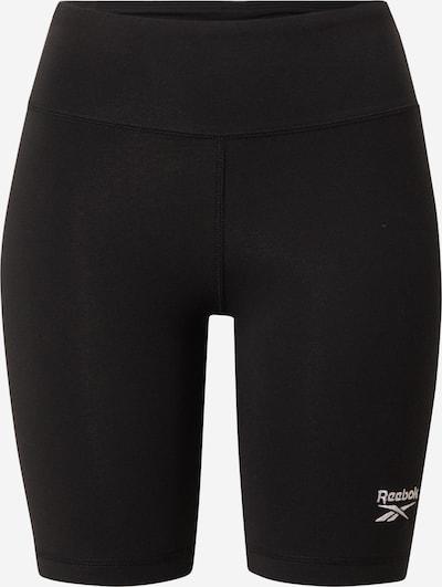 Reebok Sport Shorts in schwarz / weiß, Produktansicht