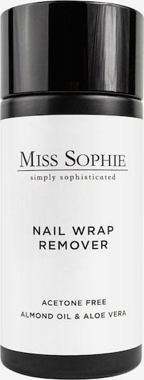 Miss Sophie's Nail Polish Remover 'Nail Wrap' in Black / White, Item view