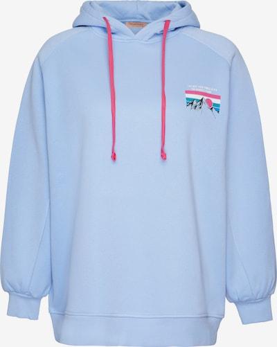 Grimelange Kapuzensweatshirt 'Polina' in blau, Produktansicht