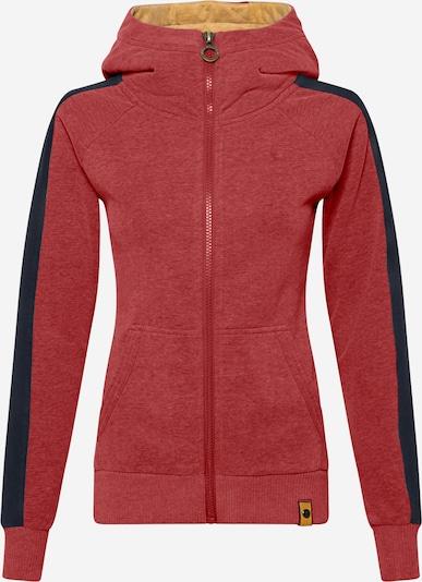 Fli Papigu Bluza rozpinana 'Sprich!' w kolorze nakrapiany czerwonym, Podgląd produktu