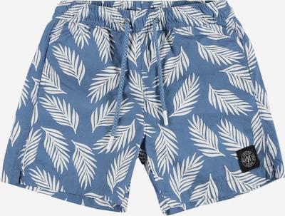 Șorturi de baie Marc O'Polo Junior pe albastru fumuriu / alb, Vizualizare produs