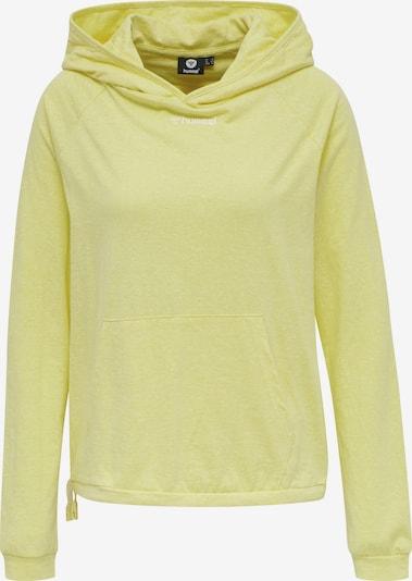 Hummel Sportief sweatshirt 'ZANDRA' in de kleur Geel, Productweergave