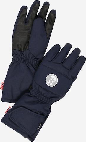 TROLLKIDS Športové rukavice 'Narvik' - Modrá