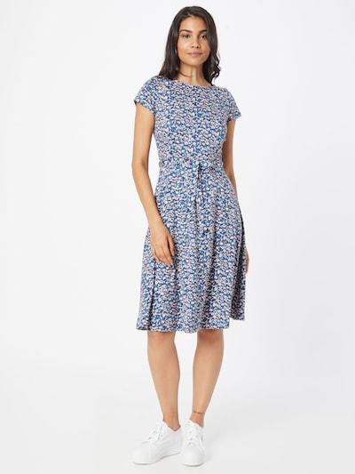 King Louie Kleid 'Sally' in royalblau / mischfarben, Modelansicht