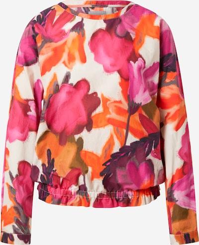 LIEBLINGSSTÜCK Bluse 'Fiza' in beige / braun / orange / pink / weinrot, Produktansicht