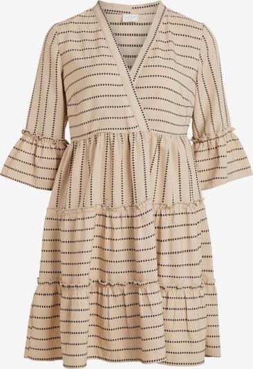 VILA Robe 'Etna' en beige / brun foncé, Vue avec produit