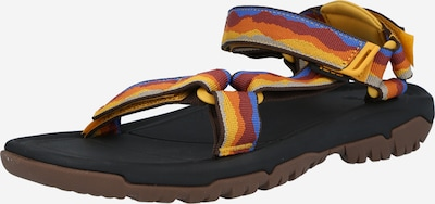 TEVA Sandalias de trekking en azul real / amarillo / naranja / rojo oscuro, Vista del producto