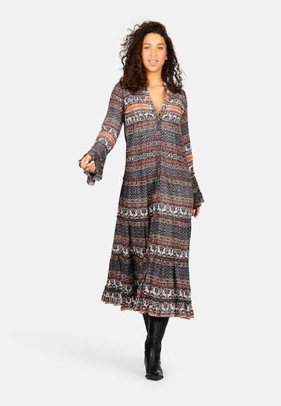 Isla Ibiza Bonita Dress 'OSCURO' in Mixed colors, View model