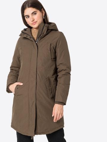 modström Winter coat 'Patricia' in Brown