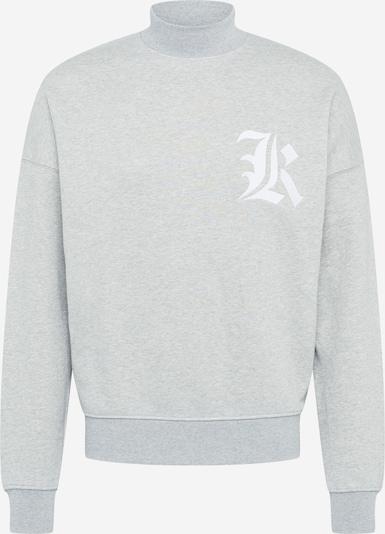 ABOUT YOU x Mero Sweatshirt 'OV Crewneck K' in grau, Produktansicht