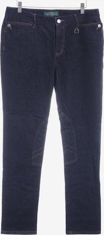 Lauren Jeans Co. Straight-Leg Jeans in 30-31 in Blau