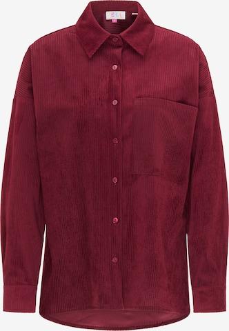 IZIA Bluse in Rot