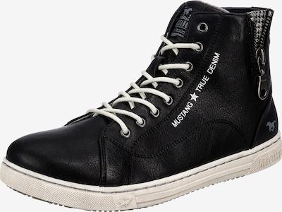 MUSTANG High-Top Sneakers in Black / White, Item view