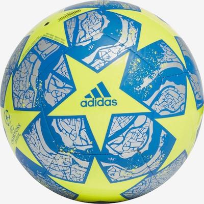 ADIDAS PERFORMANCE Ball in blau / gelb / weiß, Produktansicht