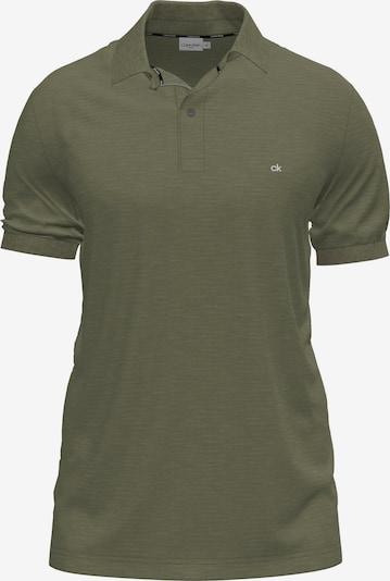 Calvin Klein Shirt in de kleur Kaki / Wit, Productweergave