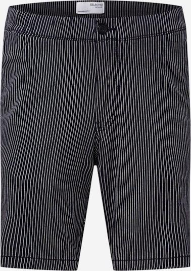 SELECTED HOMME Панталон 'ROY' в нейви синьо / бяло, Преглед на продукта
