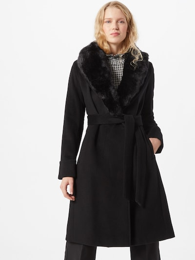 Lauren Ralph Lauren Zimski plašč | črna barva, Prikaz modela